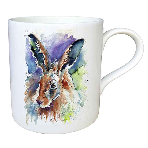 """Jasper"" Hare Fine China Large Mug"