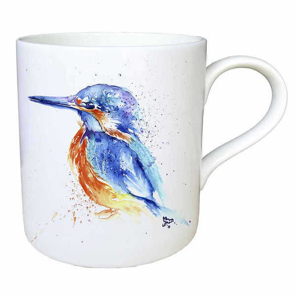 Kingfisher Fine China Large Mug