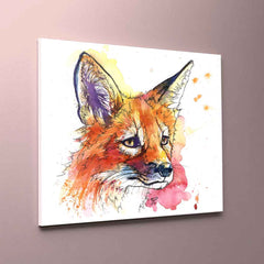 """Kit"" Fox Canvas Print"