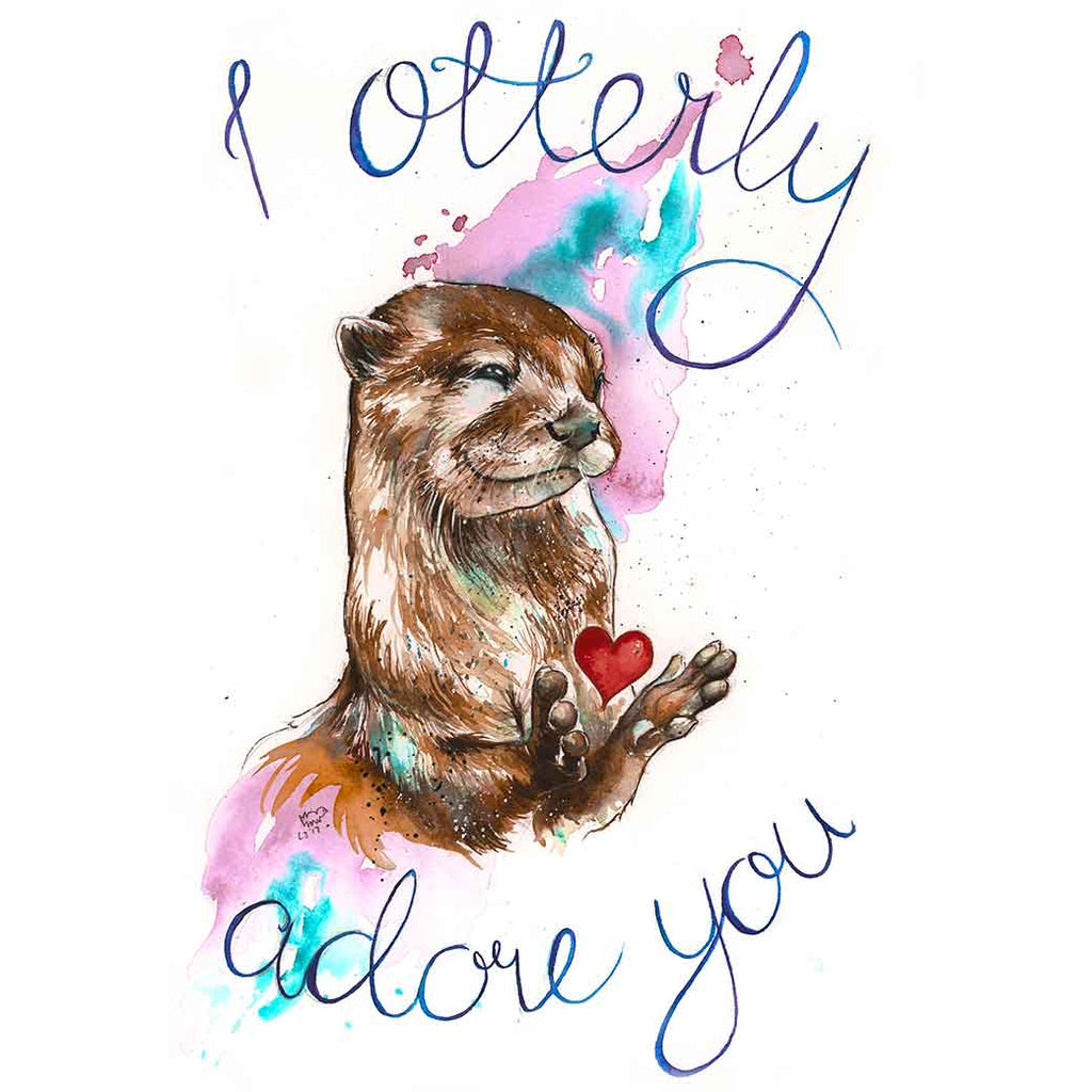 I Otterly Adore You Mug