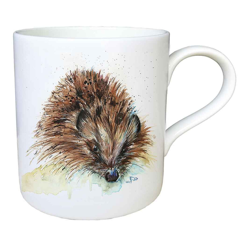 """Skittles"" Hedgehog Fine China Large Mug"
