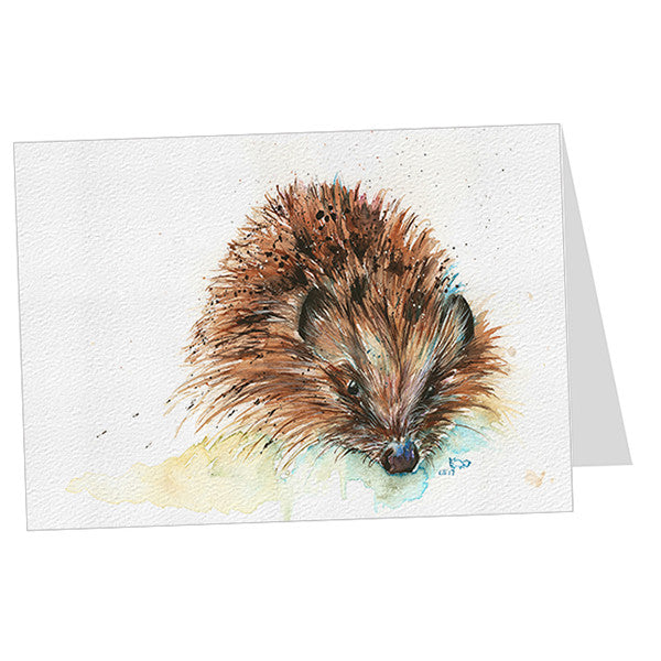 """Skittles"" Hedgehog Card"