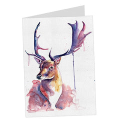 4 Cards: Fairytale Stag, Fawn, Red Panda & Skittles