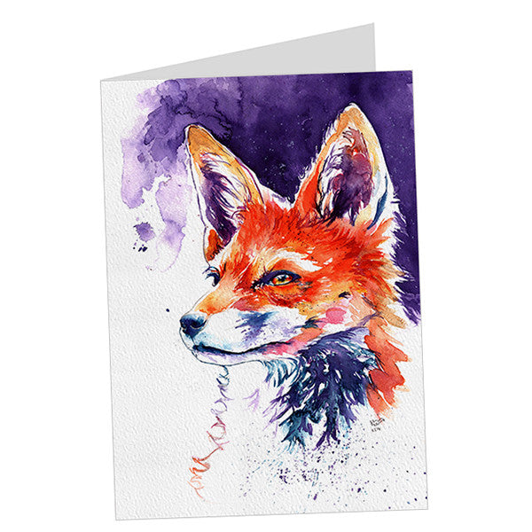Scamp Fox Card