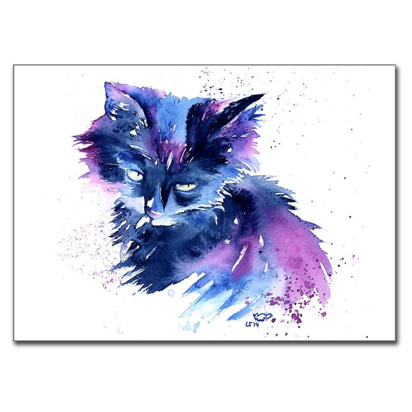 """Kitty"" Cat 5"" x 7"" Print (13cm x 18cm)"
