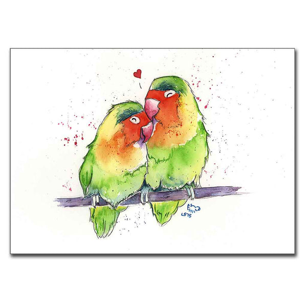 Lovebirds 5