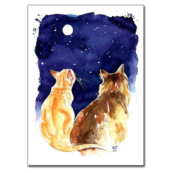 Stargazing Cats 5