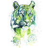 Kali (the green Tiger) Giclee Print
