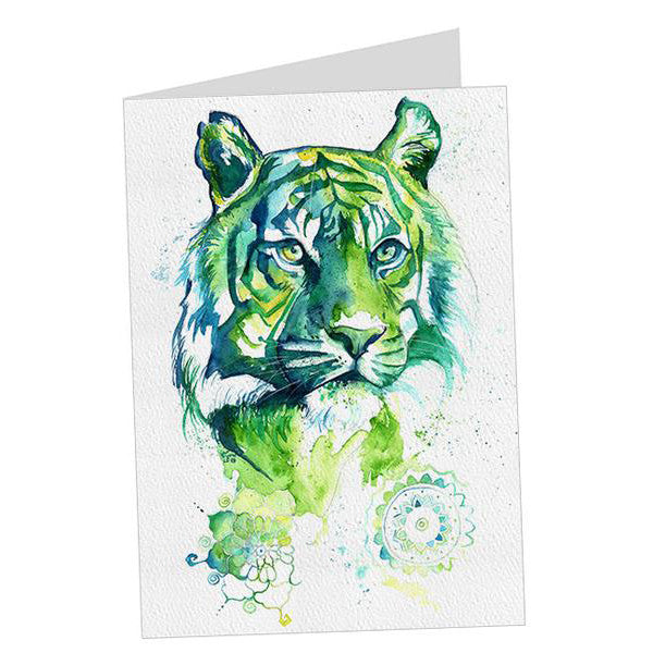Kali Green Tiger Card