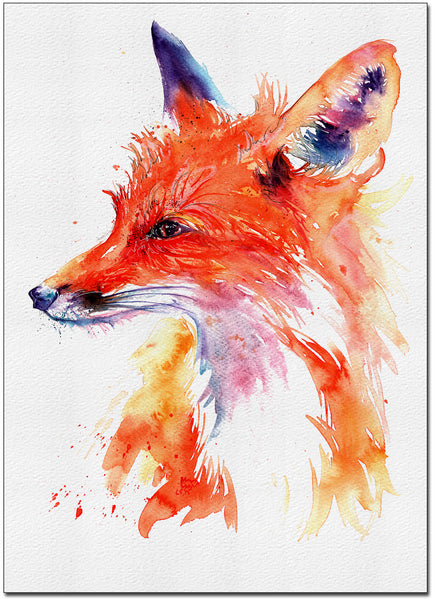 Wise Fox Fine Art Print