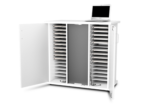 zioxi 32 Unit Charge Cabinet with Power Management For Chromebooks and Ultrabooks