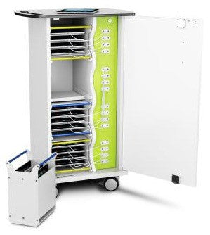 zioxi iPad/Tablet Charge Basket Trolley 16 Unit