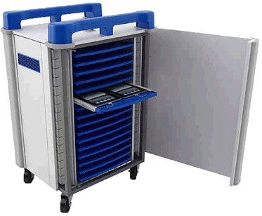 TabCabby 32 unit Charge & Sync IPAD/Tablet Trolley