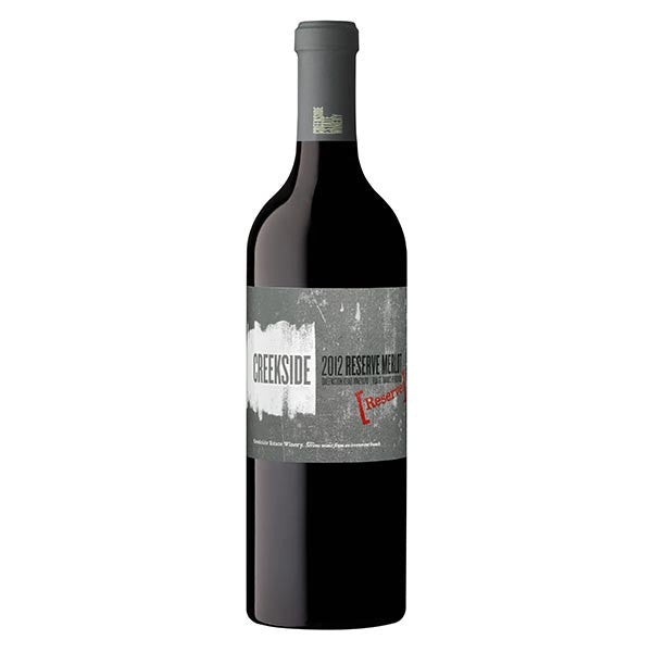 Creekside Estate Winery 2012 Reserve Merlot