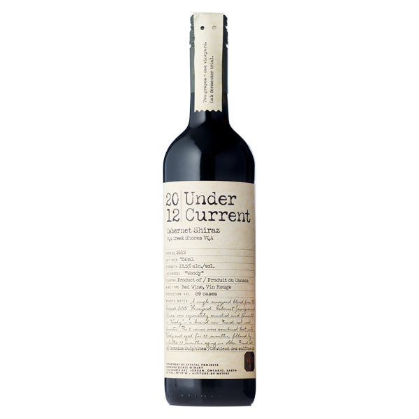 Creekside Estate Winery Undercurrent Cabernet Shiraz