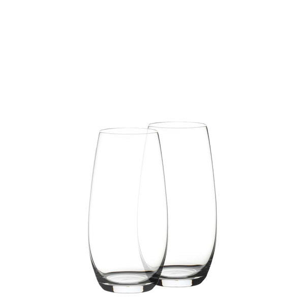 Riedel O stemless wine flutes