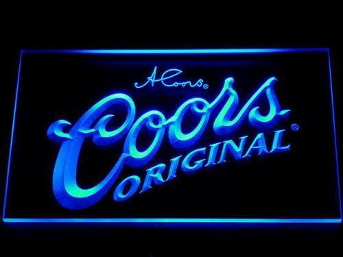 Coors Original  LED Neon Sign 005 - Blue