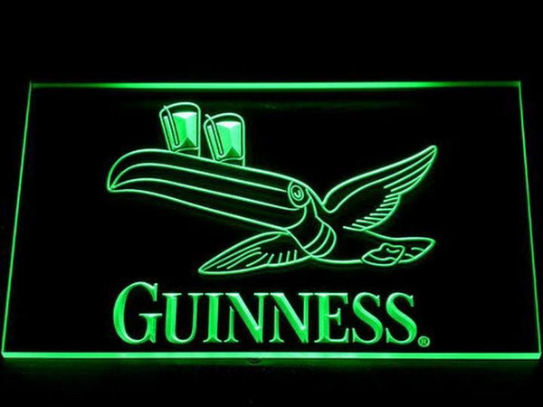 Guinness Toucan LED Neon Sign