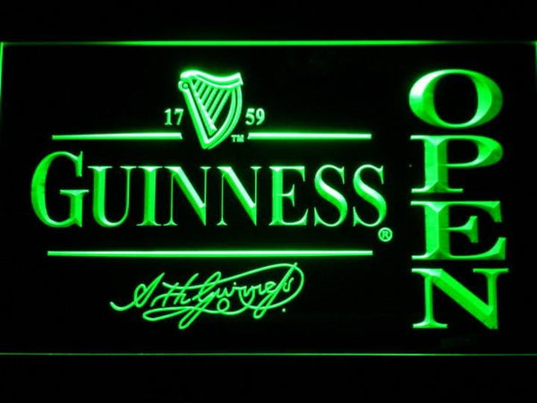 Guinness Beer OPEN LED Neon Sign