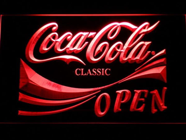 Coca Cola OPEN LED Neon Sign