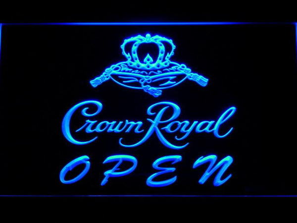 Crown Royal Beer OPEN LED Neon Sign