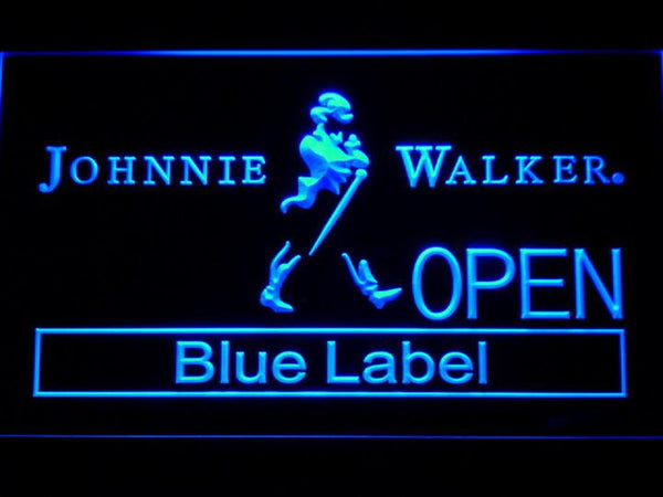 Johnnie Walker Whiskey OPEN LED Neon Sign