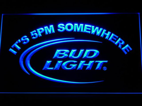 Bud Light Beer LED Neon Sign 094 - Blue