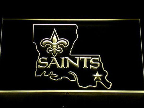 New Orleans Saints LED Neon Sign