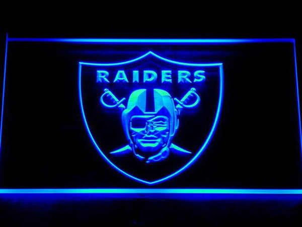 Oakland Raiders NFL LED Neon Sign