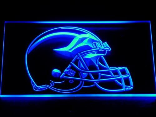 Michigan Wolverines Football Club Bar NFL LED Neon Sign 172 - Blue