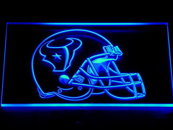 Houston Texans Helmet LED Neon Sign