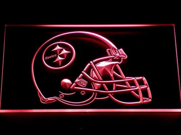 Pittsburgh Steelers Helmet LED Neon Sign