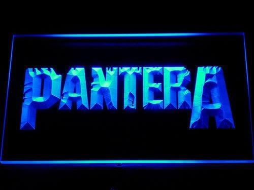 Pantera Heavy Metal Band LED Neon Sign 302 - Blue