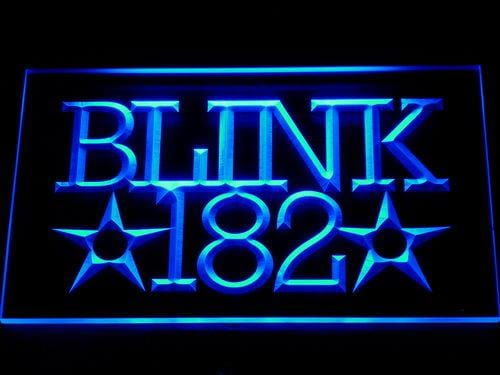 Blink 182 Rock Band LED Neon Sign 306 - Blue