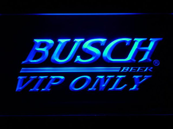 Busch Vip Only LED Neon Sign 447 - Blue