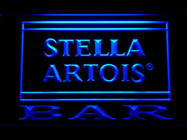 Stella Artois Bar LED Neon Sign 451 - Blue
