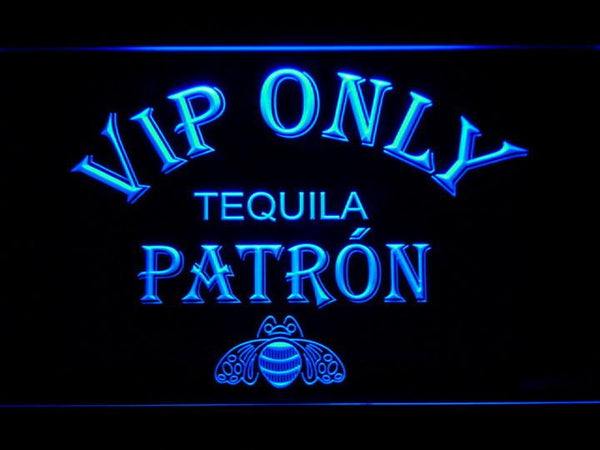 VIP Only Patron Tequila LED Neon Sign