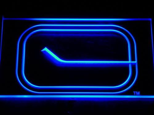 Vancouver Canucks NHL LED Neon Sign 531 - Blue