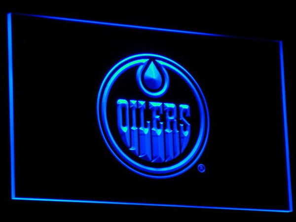 Edmonton Oilers LED Neon Sign