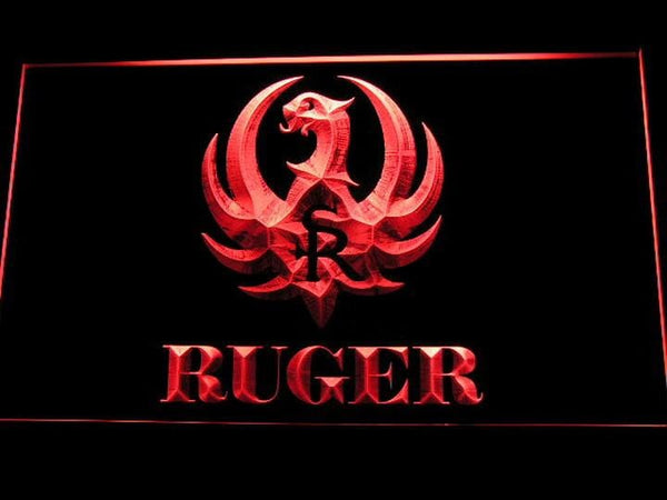 Ruger Firearms LED Neon Sign