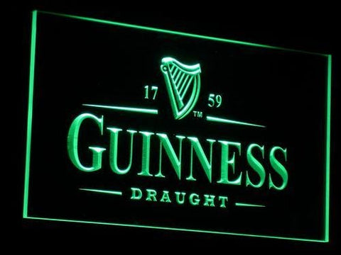 Guinness Vintage LED Neon Sign a002 - Green