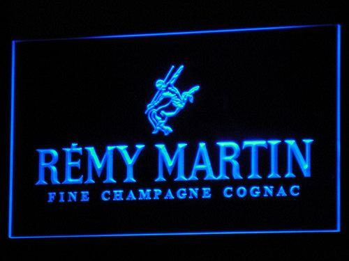 Remy Martin Wine Shop Display LED Neon Sign a083 - Blue