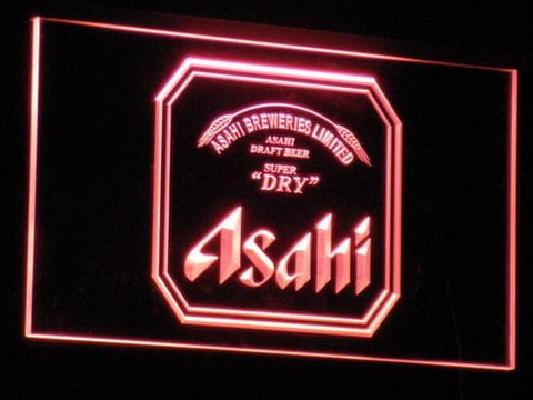 Asahi Beer LED Neon Sign a102 - Red