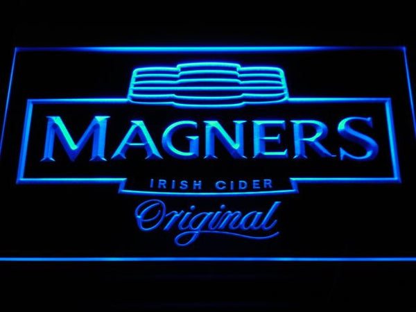 Magners Irish Cider LED Neon Sign a148 - Blue