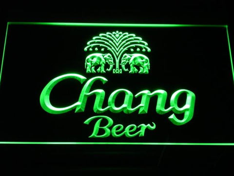 Chang Beer LED Neon Sign a170 - Green