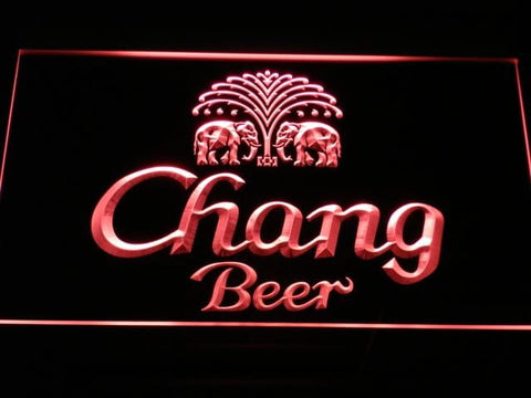 Chang Beer LED Neon Sign a170 - Red