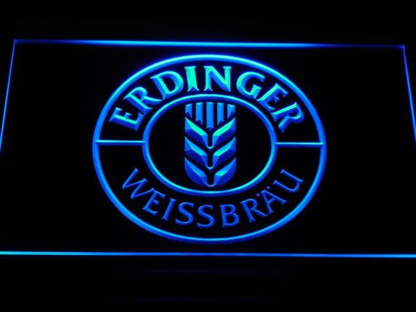 Erdinger Beer LED Neon Sign a172 - Blue