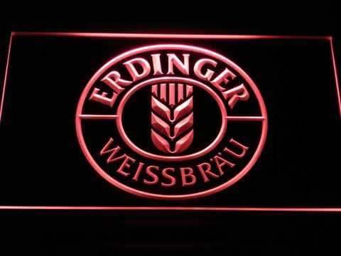 Erdinger Beer LED Neon Sign a172 - Red