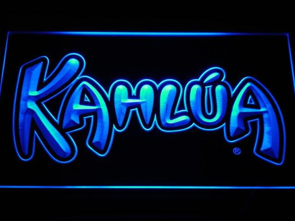 Kahlua Coffee Liqueur LED Neon Sign a190 - Blue