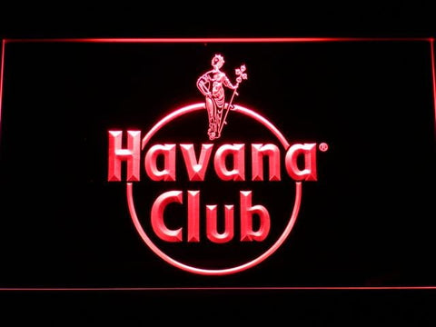 Havana Club Rum LED Neon Sign a218 - Red